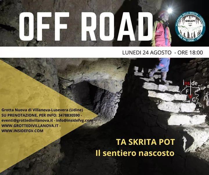 Grotta nuova di villanova - OffRoad